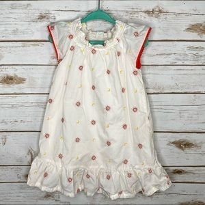 Genuine Kids sun and moon embroidered dress